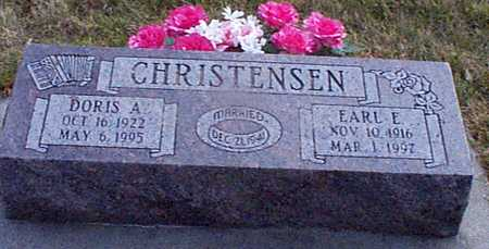 CHRISTENSEN, DORIS A - Shelby County, Iowa | DORIS A CHRISTENSEN