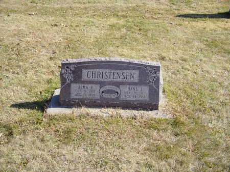 CHRISTENSEN, ALMA F - Shelby County, Iowa | ALMA F CHRISTENSEN