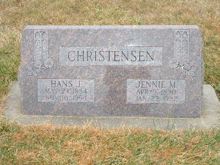 CHRISTENSEN, HANS J - Shelby County, Iowa | HANS J CHRISTENSEN