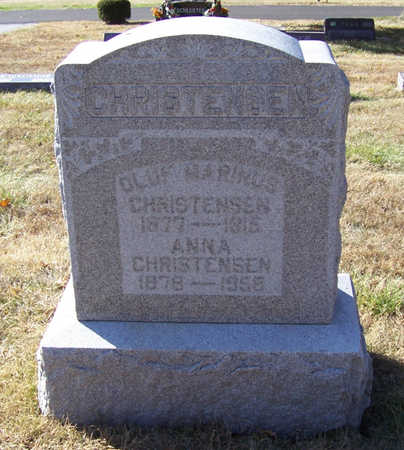 CHRISTENSEN, ANNA - Shelby County, Iowa | ANNA CHRISTENSEN