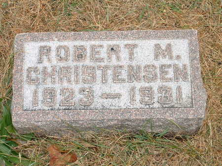 CHRISTENSEN, ROBERT M - Shelby County, Iowa | ROBERT M CHRISTENSEN