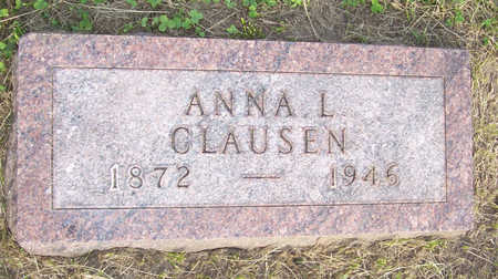 CLAUSEN, ANNA L. - Shelby County, Iowa | ANNA L. CLAUSEN