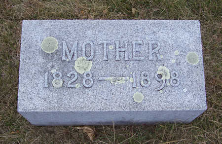 CLAUSSEN, MOTHER - Shelby County, Iowa | MOTHER CLAUSSEN