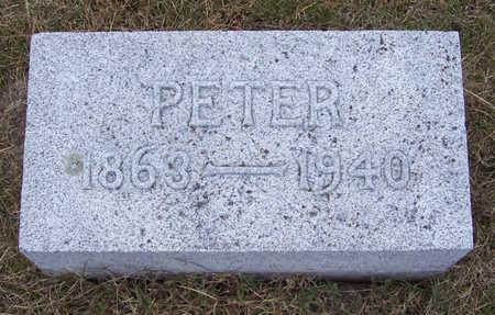CLAUSSEN, PETER - Shelby County, Iowa | PETER CLAUSSEN