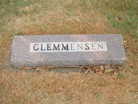 CLEMMENSEN, HANS EMIL - Shelby County, Iowa | HANS EMIL CLEMMENSEN