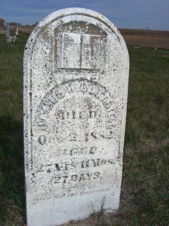 CLOTHIER, JAMES W. - Shelby County, Iowa | JAMES W. CLOTHIER