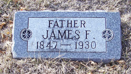 COKER, JAMES F. (FATHER) - Shelby County, Iowa | JAMES F. (FATHER) COKER