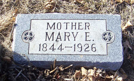 COKER, MARY E. (MOTHER) - Shelby County, Iowa | MARY E. (MOTHER) COKER