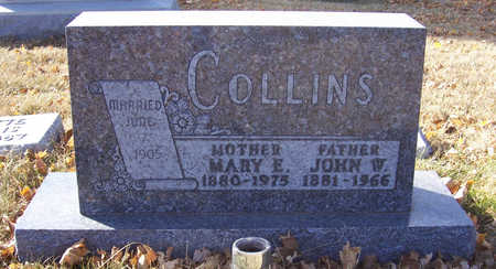 COLLINS, MARY E. (MOTHER) - Shelby County, Iowa | MARY E. (MOTHER) COLLINS