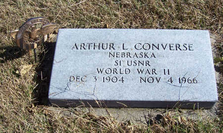 CONVERSE, ARTHUR L. (MILITARY) - Shelby County, Iowa | ARTHUR L. (MILITARY) CONVERSE