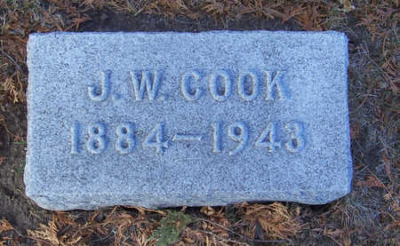 COOK, J. W. - Shelby County, Iowa | J. W. COOK