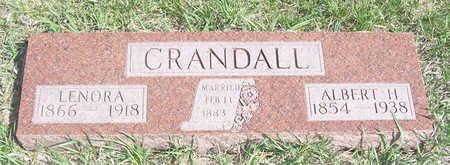 CRANDALL, LENORA - Shelby County, Iowa | LENORA CRANDALL