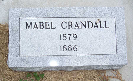 CRANDALL, MABEL - Shelby County, Iowa | MABEL CRANDALL