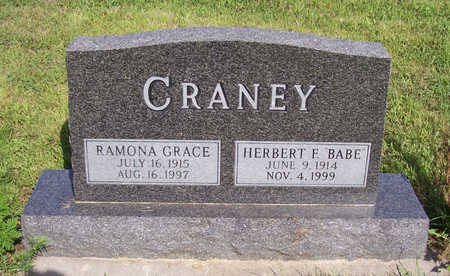 CRANEY, RAMONA GRACE - Shelby County, Iowa | RAMONA GRACE CRANEY