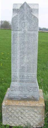 CROUSE, GEORGE - Shelby County, Iowa   GEORGE CROUSE