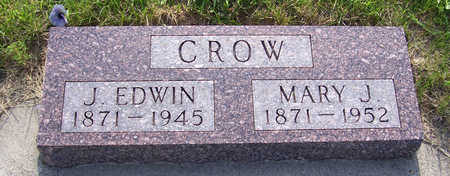 CROW, MARY J. - Shelby County, Iowa | MARY J. CROW