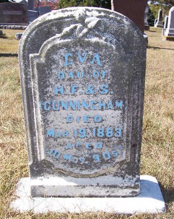 CUNNINGHAM, EVA - Shelby County, Iowa | EVA CUNNINGHAM