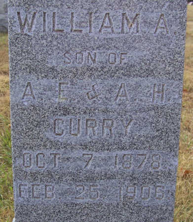 CURRY, WILLIAM A. - Shelby County, Iowa | WILLIAM A. CURRY