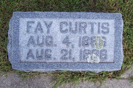 CURTIS, FAY - Shelby County, Iowa | FAY CURTIS