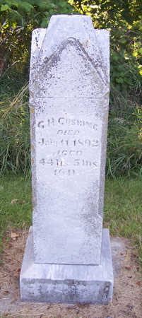 CUSHING, G. H. - Shelby County, Iowa | G. H. CUSHING