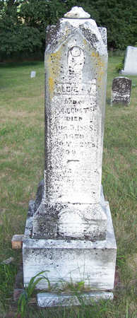 CUSTER, ALLIE J. - Shelby County, Iowa | ALLIE J. CUSTER