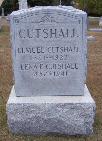CUTSHALL, LEMUEL - Shelby County, Iowa | LEMUEL CUTSHALL