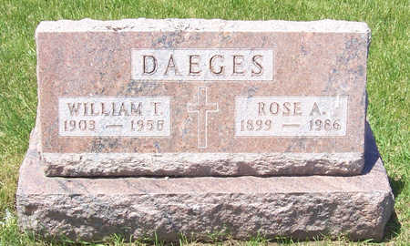 DAEGES, WILLIAM T. - Shelby County, Iowa | WILLIAM T. DAEGES