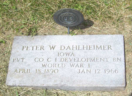 DAHLHEIMER, PETER W. - Shelby County, Iowa | PETER W. DAHLHEIMER