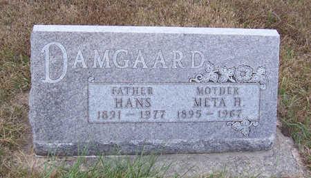 DAMGAARD, HANS (FATHER) - Shelby County, Iowa | HANS (FATHER) DAMGAARD