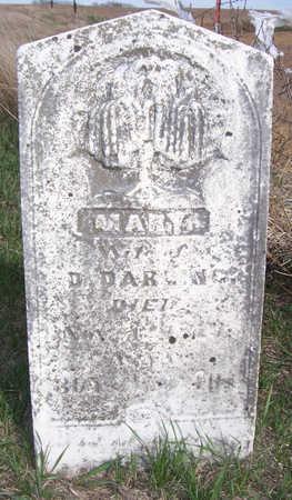 DARLING, MARY - Shelby County, Iowa   MARY DARLING