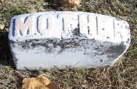 DAVIS, MARY E. (MOTHER) - Shelby County, Iowa | MARY E. (MOTHER) DAVIS