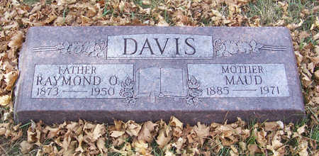 DAVIS, MAUD (MOTHER) - Shelby County, Iowa | MAUD (MOTHER) DAVIS