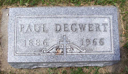 DEGWERT, PAUL - Shelby County, Iowa | PAUL DEGWERT