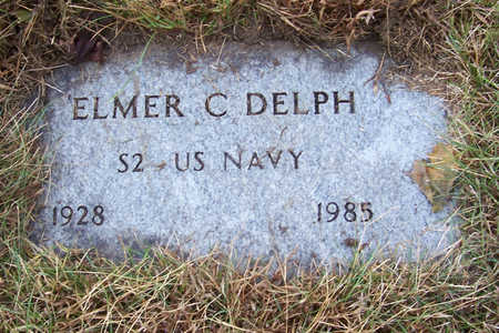 DELPH, ELMER C. (MILITARY) - Shelby County, Iowa | ELMER C. (MILITARY) DELPH