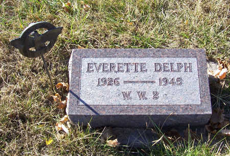 DELPH, EVERETTE (MILITARY) - Shelby County, Iowa | EVERETTE (MILITARY) DELPH
