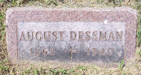DESSMAN, AUGUST - Shelby County, Iowa | AUGUST DESSMAN