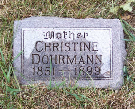 DOHRMAN, CHRISTINE (MOTHER) - Shelby County, Iowa | CHRISTINE (MOTHER) DOHRMAN