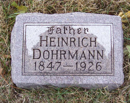 DOHRMAN, HEINRICH (FATHER) - Shelby County, Iowa | HEINRICH (FATHER) DOHRMAN