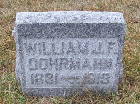 DOHRMAN, WILLIAM J. F. - Shelby County, Iowa | WILLIAM J. F. DOHRMAN