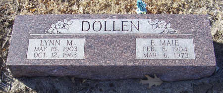 DOLLEN, E. MAIE - Shelby County, Iowa | E. MAIE DOLLEN