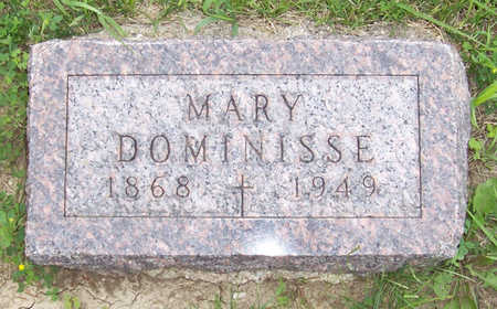 DOMINISSE, MARY - Shelby County, Iowa | MARY DOMINISSE