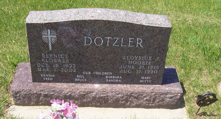 DOTZLER, ALOYSIUS J. - Shelby County, Iowa | ALOYSIUS J. DOTZLER