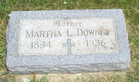DOWNEY, MARTHA L. - Shelby County, Iowa | MARTHA L. DOWNEY