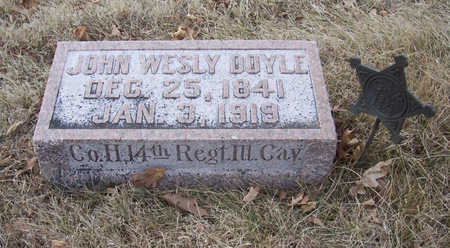 DOYLE, JOHN WESLY (MILITARY) - Shelby County, Iowa | JOHN WESLY (MILITARY) DOYLE