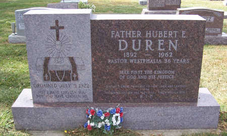 DUREN, HUBERT E. - Shelby County, Iowa | HUBERT E. DUREN