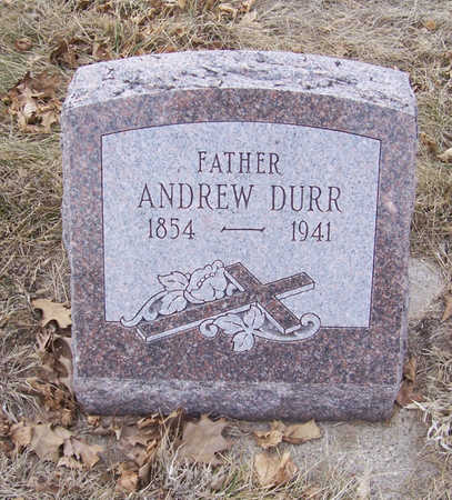 DURR, ANDREW (FATHER) - Shelby County, Iowa | ANDREW (FATHER) DURR