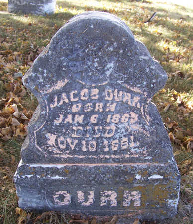 DURR, JACOB - Shelby County, Iowa | JACOB DURR