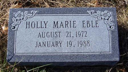 EBLE, HOLLY MARIE - Shelby County, Iowa | HOLLY MARIE EBLE