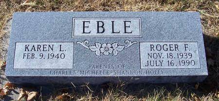 EBLE, KAREN L. - Shelby County, Iowa | KAREN L. EBLE