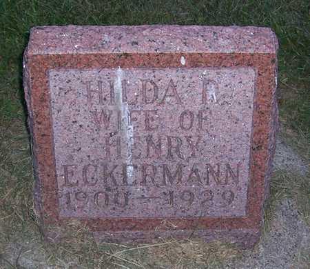 HEINZELMEIER ECKERMAN, HILDA R. - Shelby County, Iowa | HILDA R. HEINZELMEIER ECKERMAN